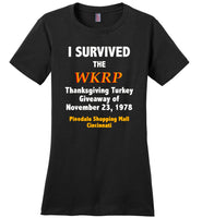 Survived The WKRP Thanksgiving Turkey Giveaway T-Shirt