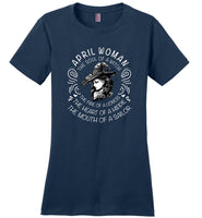 April Woman The Soul of a Witch The Fire Lioness The Heart Hippie The Mouth Sailor T shirt