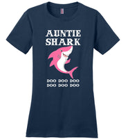 Auntie shark doo t shirt, tee shirt gift for auntie