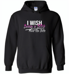 I wish being a bitch paid the bills - Gildan Heavy Blend Hoodie