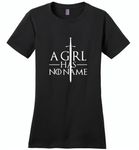 A girl has no name design - Distric Made Ladies Perfect Weigh Tee