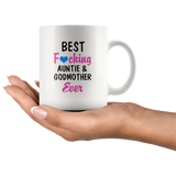Best Fucking Auntie & Godmother Ever Aunt Gift White Coffee Mug