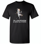 Be a doctorcorn in a world full of doctors unicorn funny - Gildan Short Sleeve T-Shirt