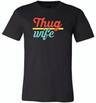 Thug Wife Vintage Classic - Canvas Unisex USA Shirt