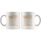 August born facts servings per container, born in August, birthday white gift coffee mugs