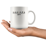 Seniors the one where they graduate 2019 White Coffee Mug
