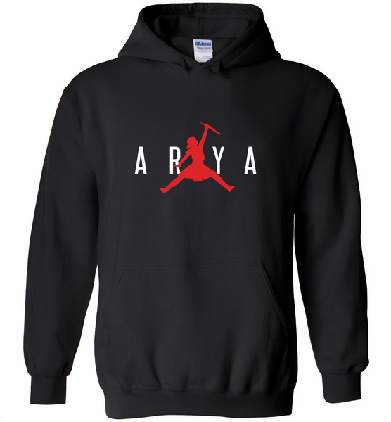 Air Arya Stark Got Tee - Gildan Heavy Blend Hoodie