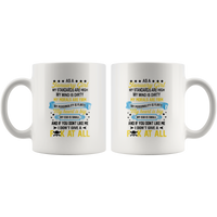 As A January Girl My Standards Are High Mind Dirty You Don't Like Me I Don't Give A Fuck At All Birthday White Coffee Mug