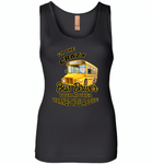 I'm the crazy bus driver your mother warned you about - Womens Jersey Tank