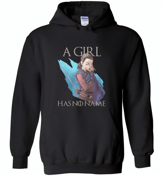 Air Arya a girl has no name stark got - Gildan Heavy Blend Hoodie
