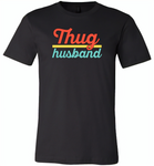 Thug Husband Vintage Classic - Canvas Unisex USA Shirt