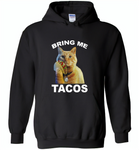 The cat bring me tacos goose - Gildan Heavy Blend Hoodie