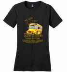 I'm the crazy bus driver your mother warned you about - Distric Made Ladies Perfect Weigh Tee