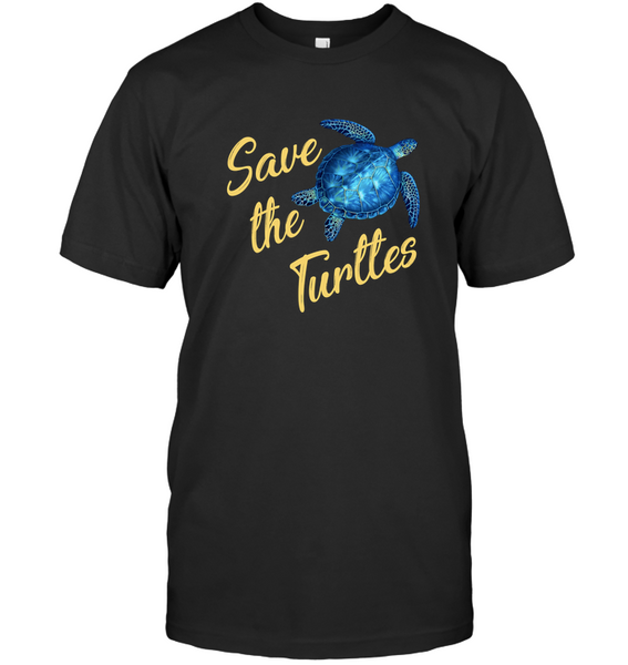 Save The Turtles Funny T Shirt