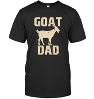Goat Dad Daddy Funny Father's Day Gift Tee T Shirts