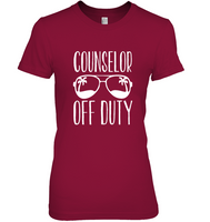 Counselor Off Duty Tee Shirt Hoodie