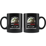 Don't mess with Unclesaurus you'll get jurasskicked funny black coffee mug