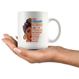 February woman I am Stronger, braver, smarter than you think, birthday gift white coffee mugs