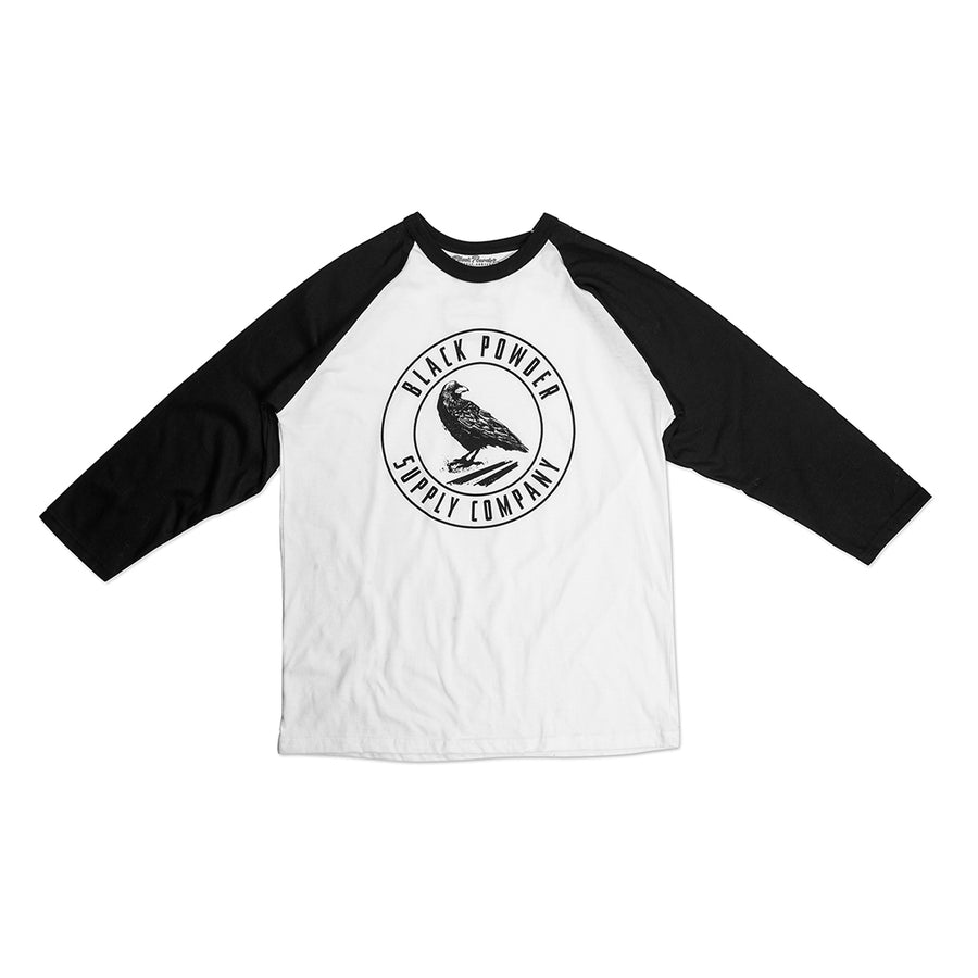 Black Powder Baseball Tee