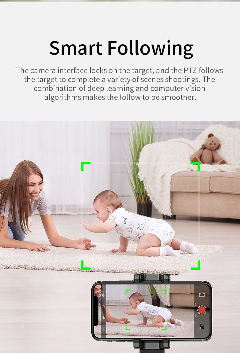 Smart Auto Tracking- Shooting Phone Holder