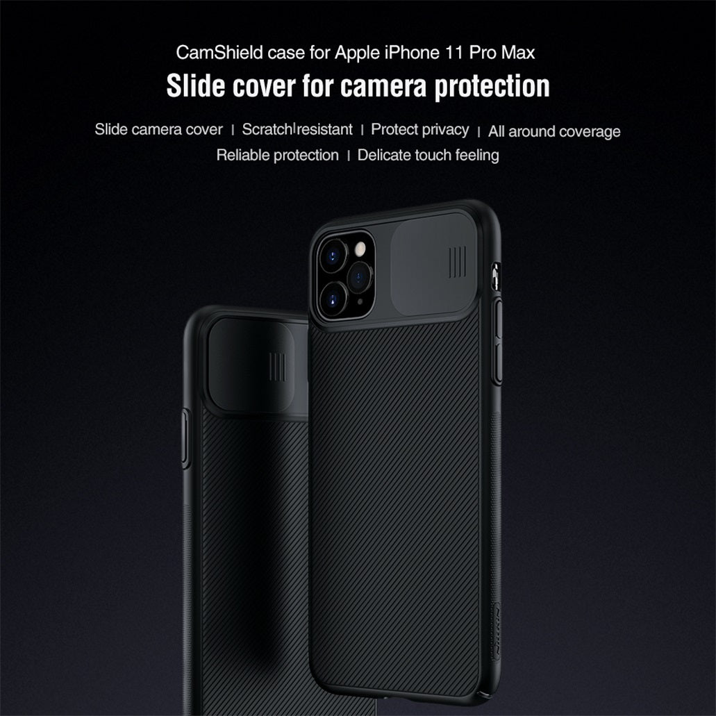 For iPhone 11, 11 Pro Max Case -  CamShield Case Slide Camera Cover Protect Privacy