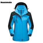 Mountainskin Women's Winter 2 pieces Softshell Fleece Waterproof Outdoor Sports Jackets