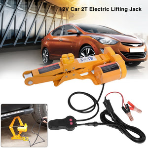 Electric Car Floor Jack 2/ 3 Ton All-in-one Automatic 12v Scissor