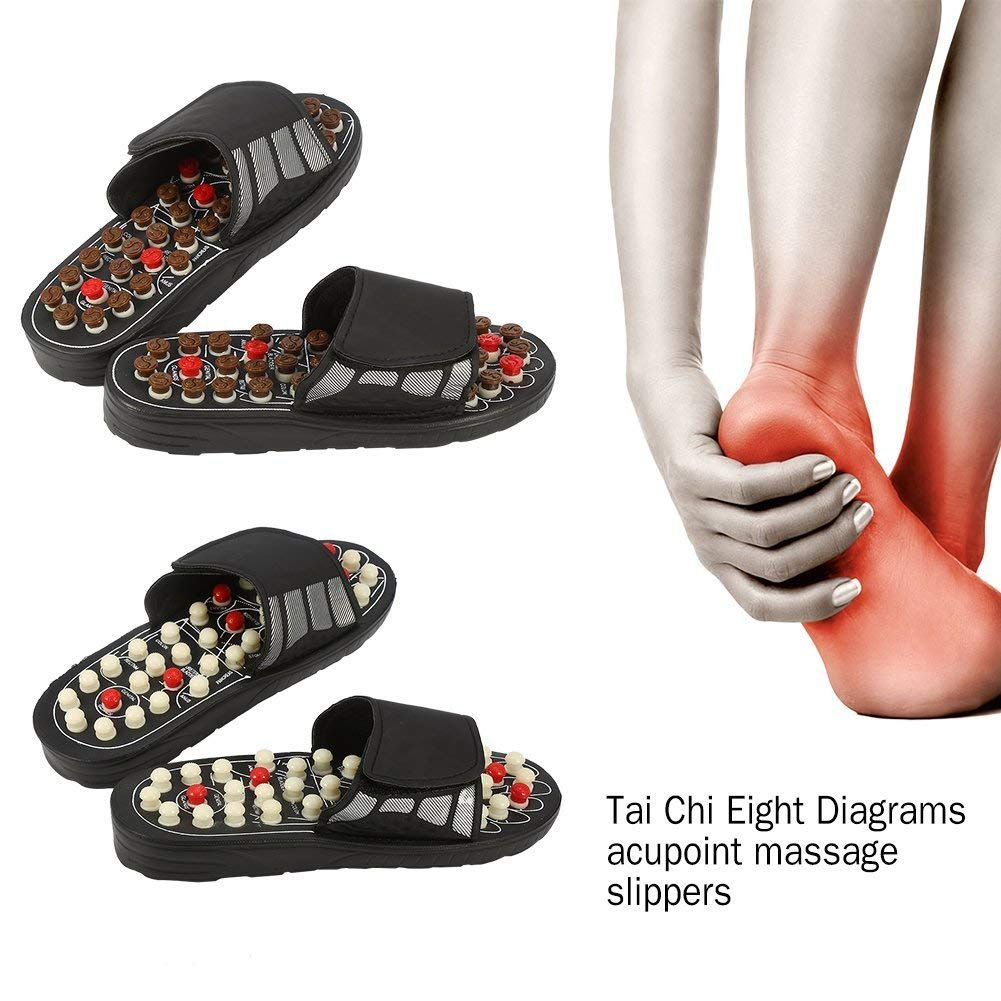 Foot Massage Slippers Acupuncture Therapy Massager
