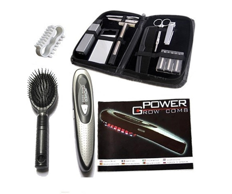 Electric Laser Treatment Power Grow Comb Kit Stop Hair Loss