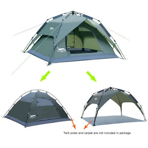 Automatic Camping Tent Instant Setup Portable