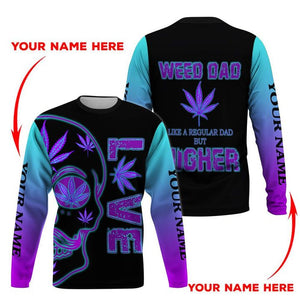 HOODIE WEED DAD 3D ALL OVER PRINT  H005TD CUSTOM NAME