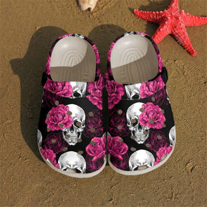Limited Edition SKULL CROCS CRS200916FPTX