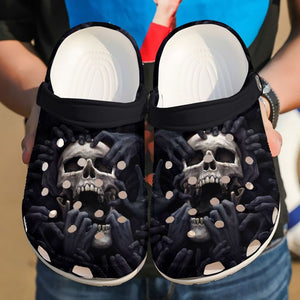 Limited edition SKULL crocs CRO007BTSON