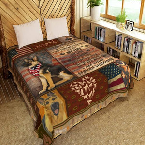 I Am Your German Shepherd Quilt Q24071IEH