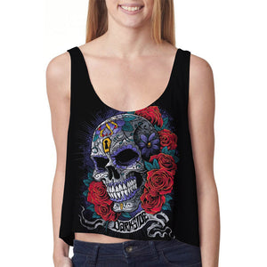 CROP TANKTOP OUTFIT FOR WOMEN TATTOO CR003RB