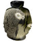 3D PRINTED GREY PARROT T SHIRT LONG SLEEVE HOODIE DT060608