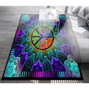 HIPPIE LIVING ROOM SOFA SQUARE RUG FR005FRNUH