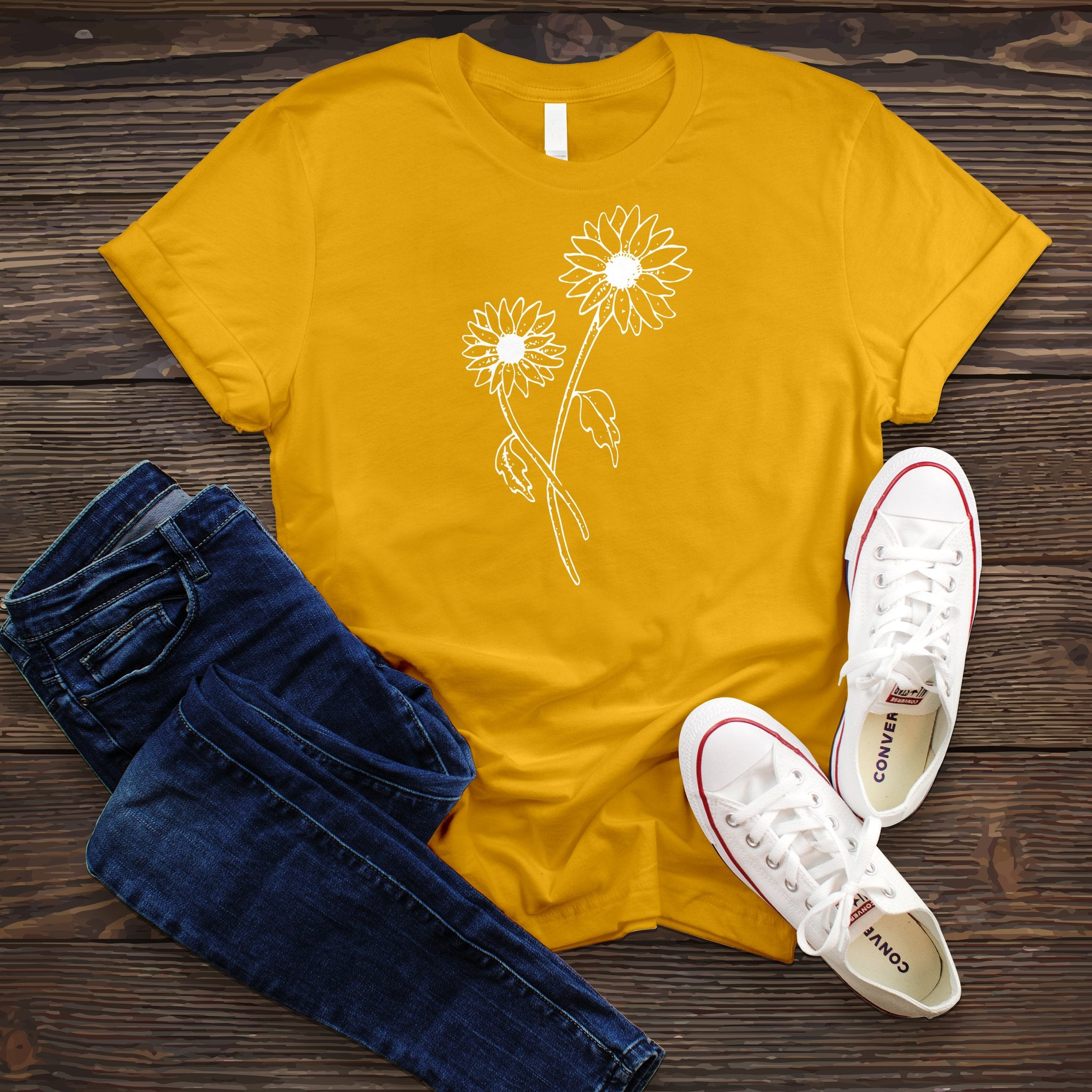 Spring Sunflower Tee