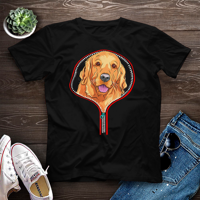 Golden Retriever Dog Tee