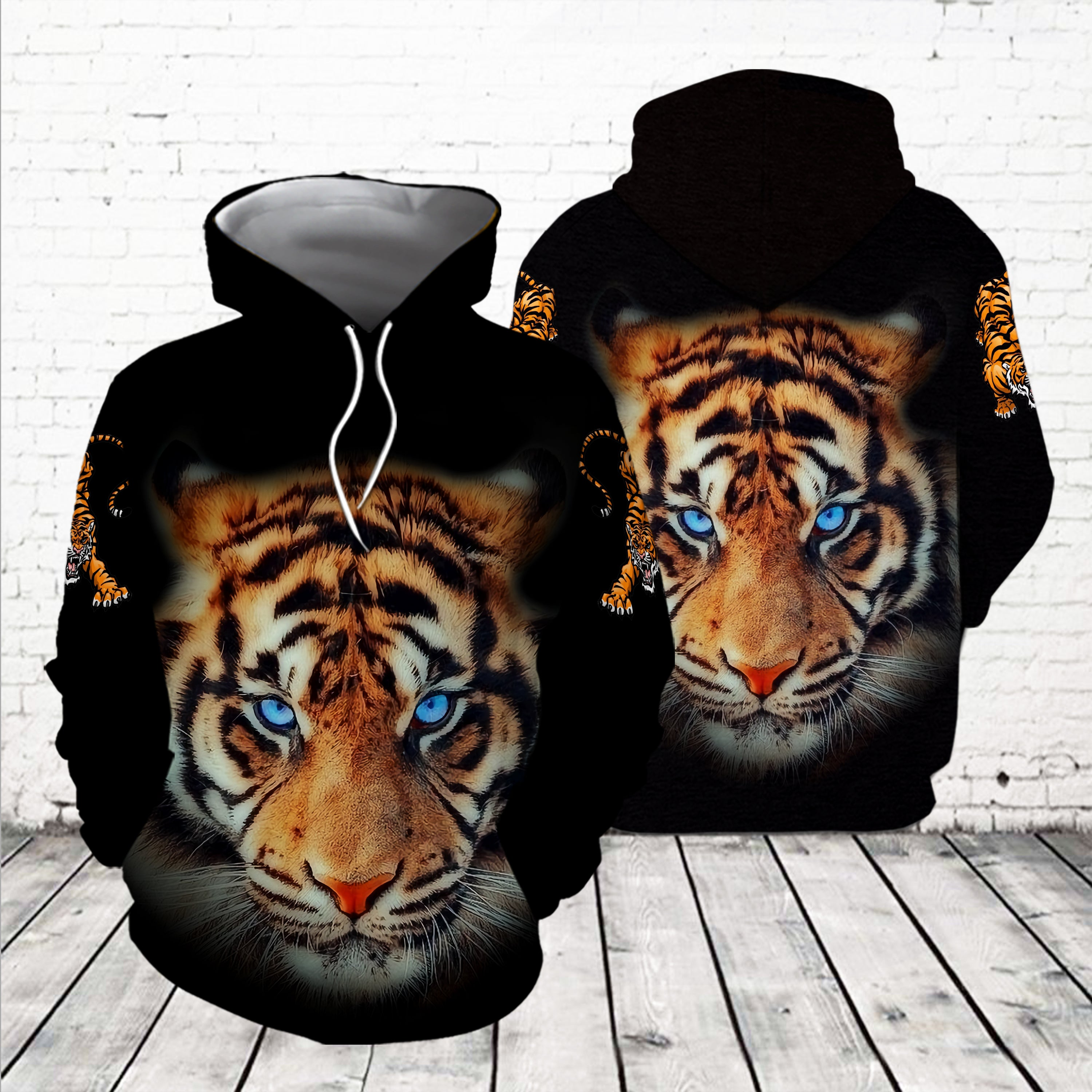 TIGERS 3D APPARELS TATTOO H005T4