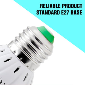 E27 UV Desinfection Lamp E14 LED Sterilizer Lamp MR16 LED UVC Germicidal Bulb GU10 Ultraviolet Light 48 60 80leds Amuchina B22