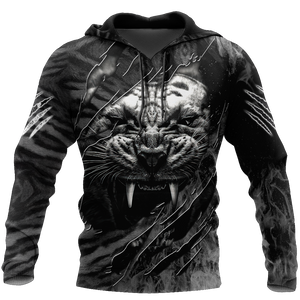 WARRIOR WHITE TIGER 3D APPARELS H007ALSON