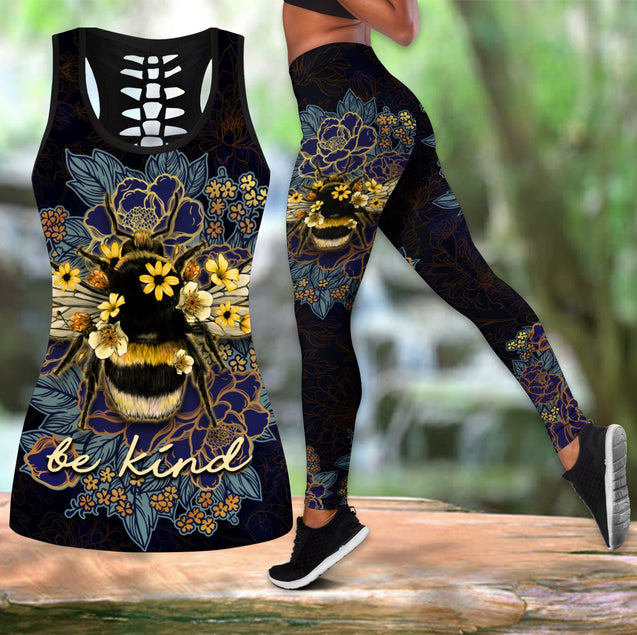 LOVE BEE TANK TOP & LEGGINGS OUTFIT FOR WOMEN TA0661IEH