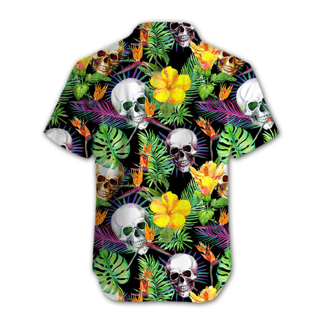 SKULL HAWAII SHIRTS S0E7SIEH