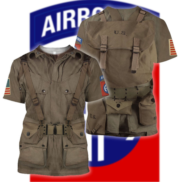 3D All Over Printed 82nd Airborne Division version 2