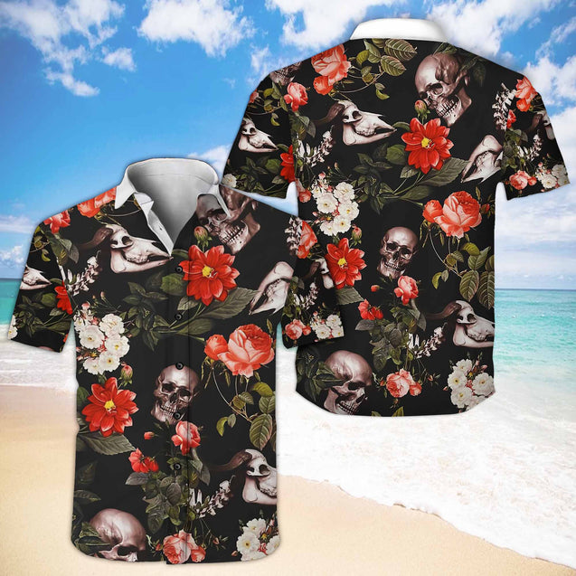 SKULL HAWAII SHIRTS T0E8VIEH