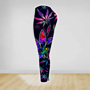 COMBO HIPPIE TANK TOP & LEGGINGS OUTFIT FOR WOMEN TA0034L