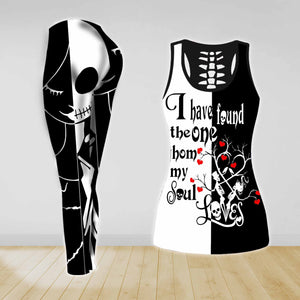 COMBO TANK TOP & LEGGINGS OUTFIT FOR WOMEN TATTOO TA003P3