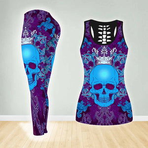 COMBO TANK TOP & LEGGINGS OUTFIT FOR WOMEN TATTOO TA003PV