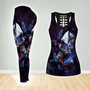 COMBO TANK TOP & LEGGINGS OUTFIT FOR WOMEN TATTOO TA003PY